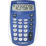 Texas Instruments Handheld Calculator, TI503SV Pocket-Size