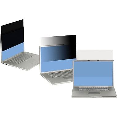 3M™ - Filtre de confidentialite pour portatif, grand format, 14,1 po, noir (PF141W1B)