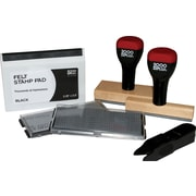 2000PLUS Custom Stamp Kit with Plastic Handle by