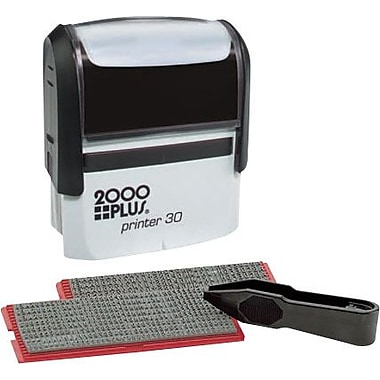2000plus one color do it yourself stamp kit 5 line staples 2000plus one color self inking stamp kit 5 line 1 solutioingenieria Choice Image