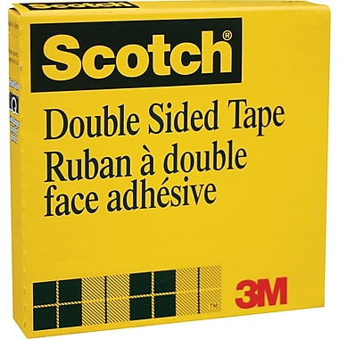 Scotch™ Double-Sided Transparent Tape, 18mm x 33m (665-18)
