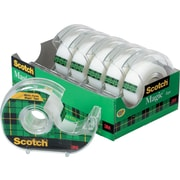 "Scotch® Magic™ Tape, 1/2"" x 12 1/2 yds with Dispenser, 1"" Core"