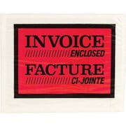 Staples® Invoice Envelopes, Full Panel, 1000-Pack