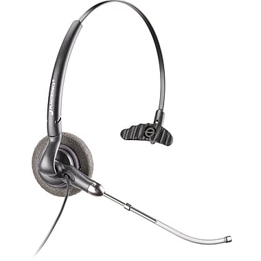 Plantronics H141 DuoSet Convertible Headset w/Voice-Tube Mic