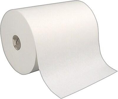 enMotion 1-Ply Hardwound Paper Towel Rolls, White, 6 Rolls/Case