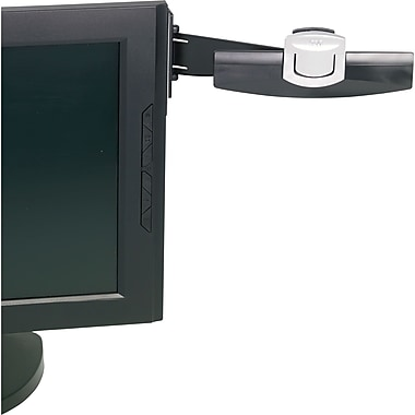 3M Copyholder, Monitor Mount Clip, 30 Sheet Capacity