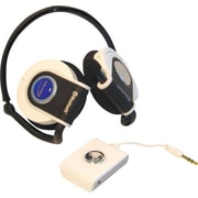 GoldLantern G-Lite® Stereo Bluetooth® Headset, White