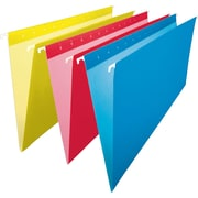 Staples® Coloured Hanging File Folders