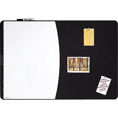 Quartet® Designer™ Tack & Write® Cubicle Combination Board, 35