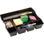 Rubbermaid® Regeneration Deep Drawer Organizer, Black