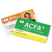 GBC® - Pochettes de qualité HeatSeal Retrievable, format cartes d'affaires, paq./25