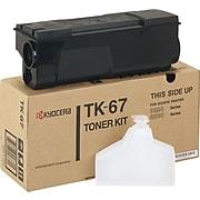 Kyocera TK-67 Black Standard Yield Toner Cartridge