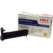 Okidata Yellow Drum Cartridge (43381701)