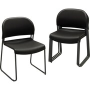 HON® GuestStacker Chairs, 4/Pack
