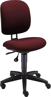 HON® ComforTask Task/Computer Chair, Fabric, Burgundy, Seat: 20