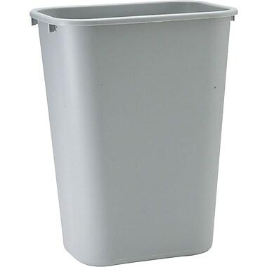 Rubbermaid® 2957 Rectangular Wastebasket, Large, 41.25 qt