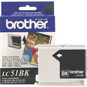 Brother Genuine LC51BK Black Original Ink Cartridge