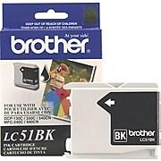 Brother LC-51BK Black Standard Yield Ink Cartridge