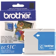 Brother Genuine LC51C Cyan Original Ink Cartridge