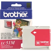 Brother Genuine LC51M Magenta Original Ink Cartridge