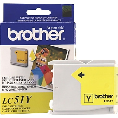 Brother Ink Cartridge, Yellow (LC-51Y)