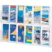 Safco; Reveal™ Displays, 12 Pamphlet Display
