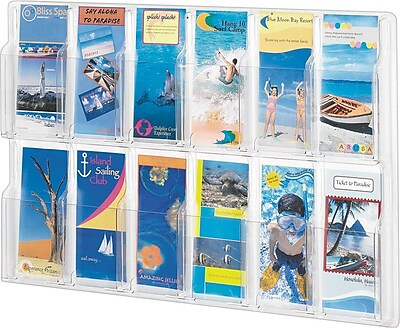 Safco; Reveal™ Displays, 12 Pamphlet Display