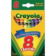 Crayola® Crayons, 8/Box