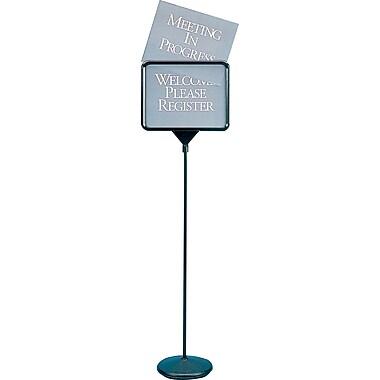 Quartet® Sign(ware)™ Pedestal Sign