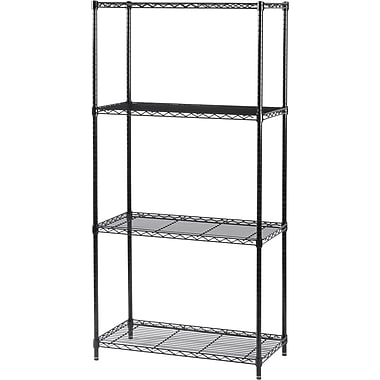 Safco® Commercial Shelving Unit, 500 lbs. Capacity, 72