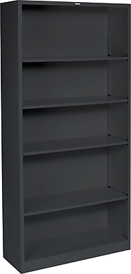 HON Brigade Steel Bookcase, 5 Shelves, 34-1/2