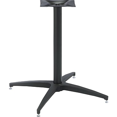 Iceberg OfficeWorks Pedestal Base, Matte Black