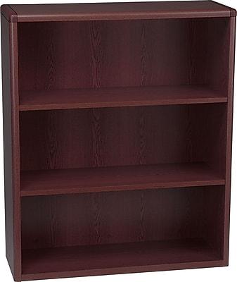 HON® 10700 Series, 3-Shelf Bookcase, Mahogany
