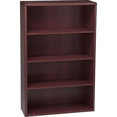 HON® 10700 Series, 4-Shelf Bookcase, Mahogany