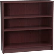 HON® 1870 Series Wood Laminate Bookcases - 3-Shelf, Mahogany