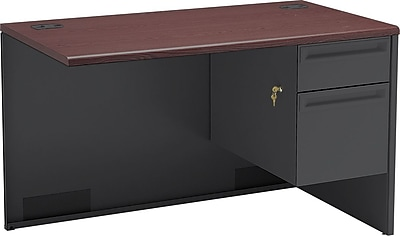 HON 38000 Series Right Return, 1 Box/1 File Drawer, 48