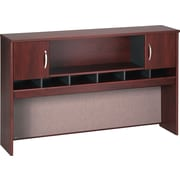 "Bush Westfield 72"" 4-Door Hutch, Hansen Cherry and Graphite Gray"