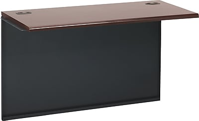HON® 38000 Series Bridge, Mahogany/Charcoal, 29 1/2