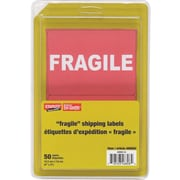 "Staples ""Fragile"" Shipping Labels, 50-Pack"