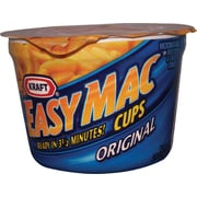 Kraft® Easy Mac® Cups, 2.05 oz. Cups, 10 Cups/Case