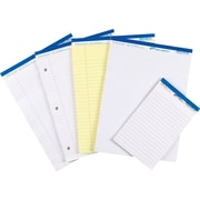 "Hilroy Perforated Pads, 8-1/2"" x 11"", Wide-Ruled, 50 Sheets/Pad"