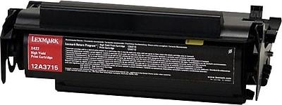 Lexmark 12A3715 Black Toner Cartridge, High Yield