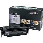 Lexmark 12A8420 Black Standard Yield Toner Cartridge