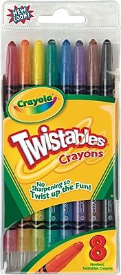 Crayola® Twistable® Crayons, 8/Pack