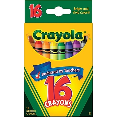 Crayola® Crayons, 16/Box