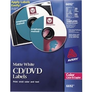 Avery Permanent Laser CD/DVD Labels