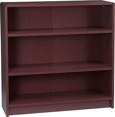 HON 36'' 3-Shelf Bookcase, Mahogany (HON1892N)