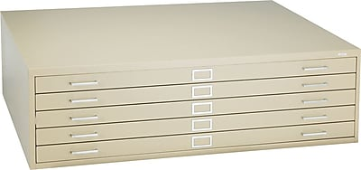 Safco® Steel Flat File, For Sheets Up To 50
