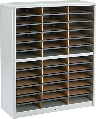 Safco® Value Sorter Literature Organizer, 36 Compartment, 32 1/4
