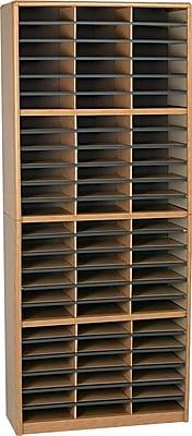 Safco® Value Sorter Literature Organizer, 72 Compartment 32 1/4